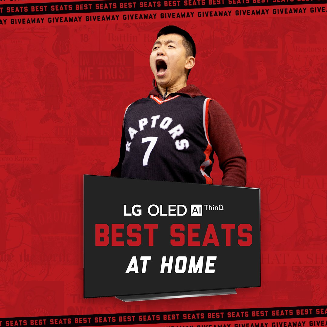 Can you guess the fans' reaction to upgrade your seats at home?   Enter now for your chance to win @LGCanada » https://t.co/MlW7t61SVs https://t.co/TItQiDriGE