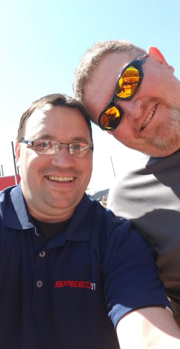 """The first @FASTRAK_Racing event that I ever announced back in 2009 was at the @Cherokee_DirtSC & I got to work with this colleague Kevin Wray aka """"FatBaby"""". Today is his special day. #HappyBirthday my friend.  pic.twitter.com/yVCtO5xtNe"""