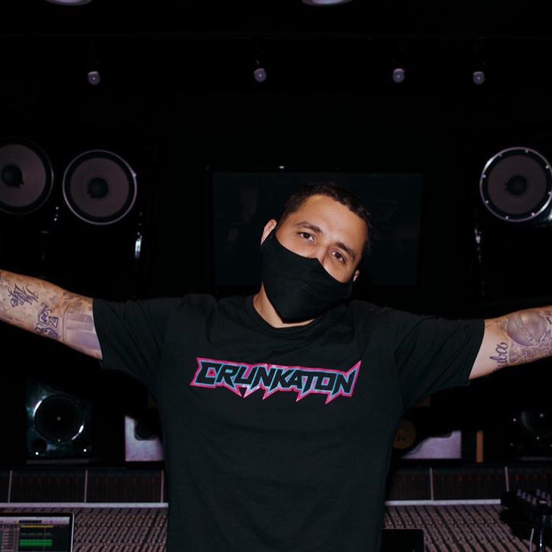 Studio @rojasonthebeat @elarmasecreta @alexvisualss 🔥🔥🔥🔥🔥🌎✌️ #crunkaton