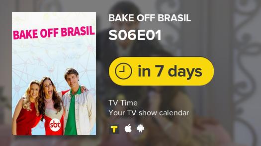 Bake Off Brasil is back in 7 days! #bakeoffbrasil #tvtime https://t.co/QzNJfLMIoN
