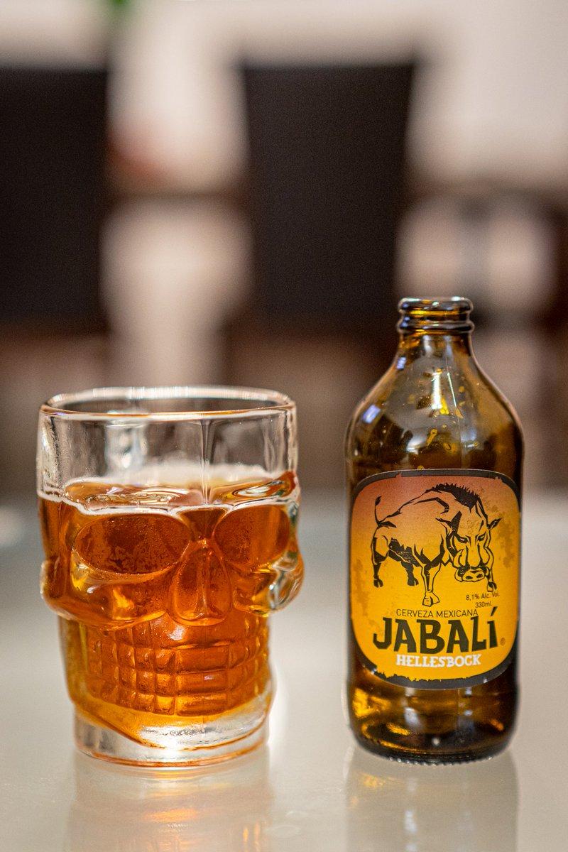 Ya probaron esta cerveza mexicana? Jabalí Hellesbock, trae 8.1% de alcohol en una botella de 330ml. La encontramos en soriana en $30 pesos https://t.co/rcmEY2XYSJ