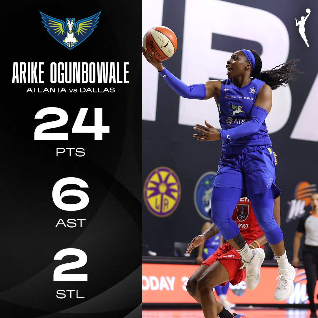 .@Arike_O dropped 9 points in Q4 to lead the Wings past the Dream. #WNBA