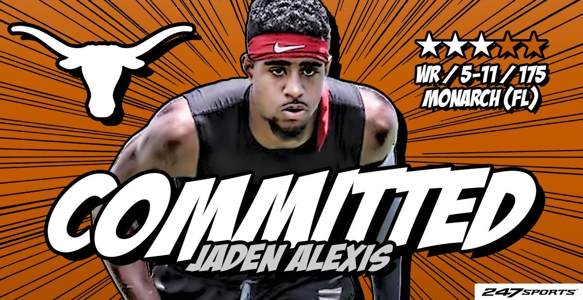 Breaking: #Texas lands commitment from 2021 wide receiver Jaden Alexis. https://t.co/xIjpC4Ccz6 https://t.co/CUmeSdCOCh