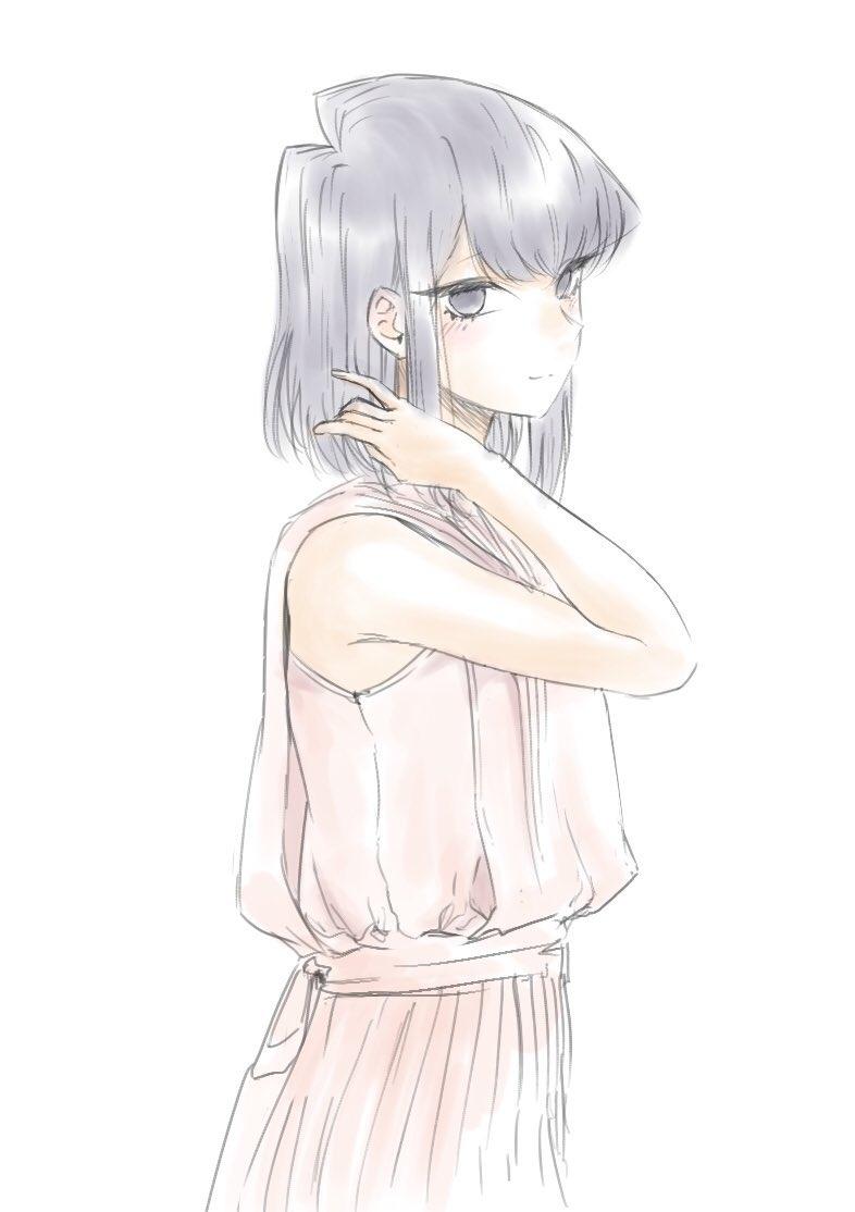 髪型を変えてみて。 #女の子 #古見さん #古見さんはコミュ症です #古見硝子 #JK #美人 #ショートヘア https://www.pixiv.net/artworks/83542604…pic.twitter.com/1EJiQJCq3a