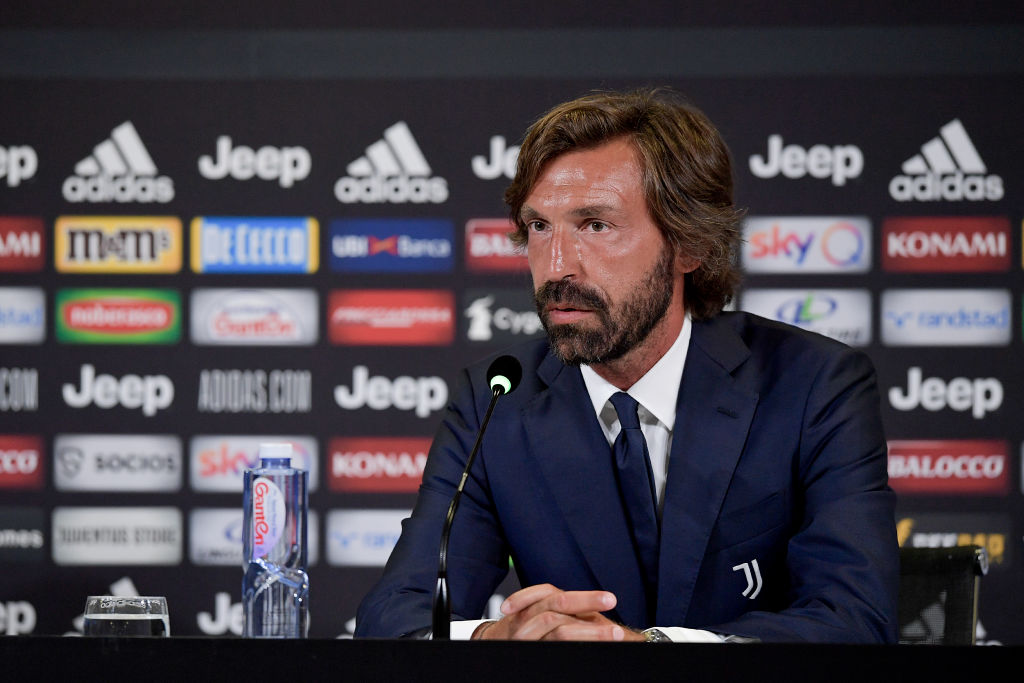 PIRLO HAS DEFENSIVE ISSUES