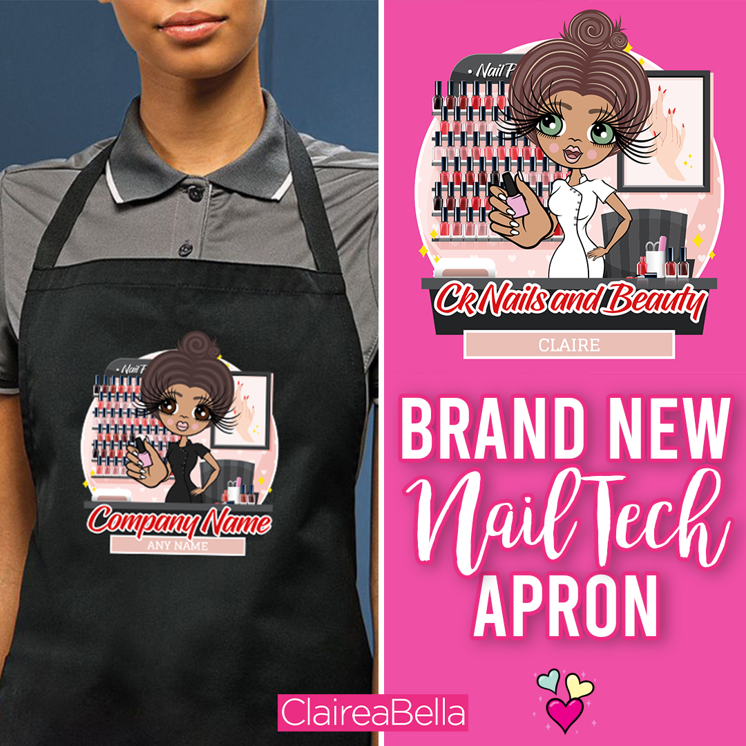 Life is not perfect... but your nails can be  BRAND NEW Nail Tech apron is here! https://bit.ly/2DGdrCL #Nail #NailTech #NailArtist #Apronpic.twitter.com/l7OhyWcevb