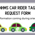 Image for the Tweet beginning: NHMS car riders line is