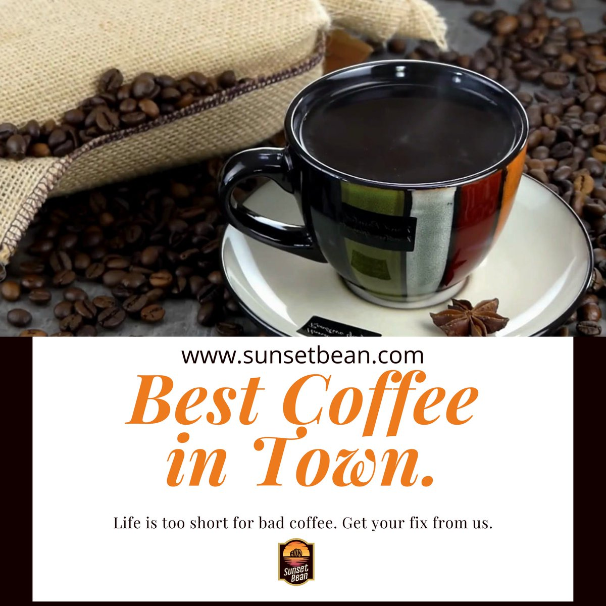 Life is too short for bad coffee. Get your fix from us. Shop Now : https://www.sunsetbean.com/collections/coffee… . . #Sunsetbean #Sunsetbeancoffee #coffeebeans #thecoffeecompany #SunsetMugs #herbaltea #Premiumquality #bestcoffee #coffeelover #coffeereducesdepression #depression #SupportBlackBusinesspic.twitter.com/XmdQhKgtjU