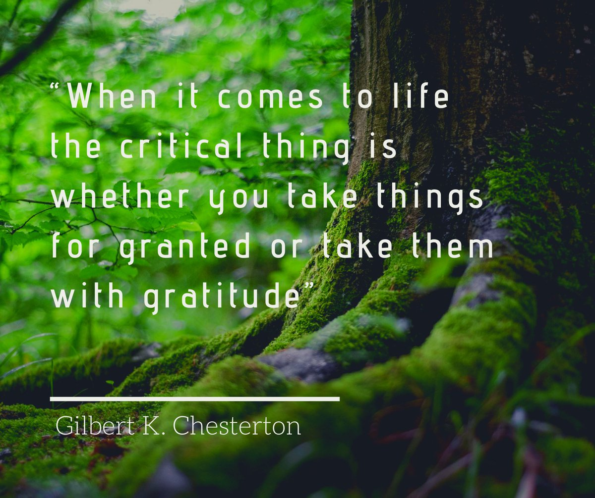 "test Twitter Media - What a lovely day  it was today☀️. ""When it comes to life the critical thing is whether you take things for granted or take them with gratitude."" - Gilbert K. Chesterton #gratitude https://t.co/kwGSoAATbb"