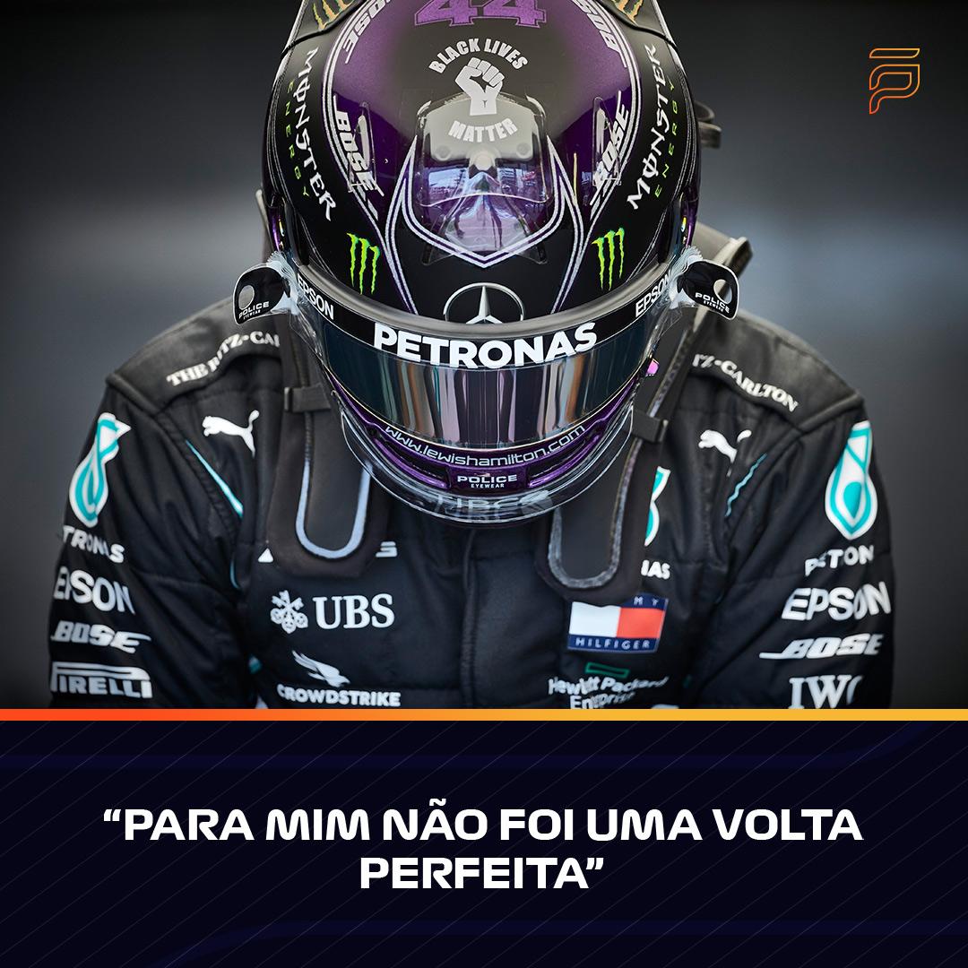 Lewis Hamilton não conseguiu melhor que a 2ª posição na qualificação, mostrando-se infeliz com a sua volta  #FormulaPortugal #FP #Formula1 #F1 #FormulaOne #F1Eleven #F170 #Hamilton #LewisHamilton #LH44 #Mercedes #MercedesAMGF1 https://t.co/jsv8Mnlxbv