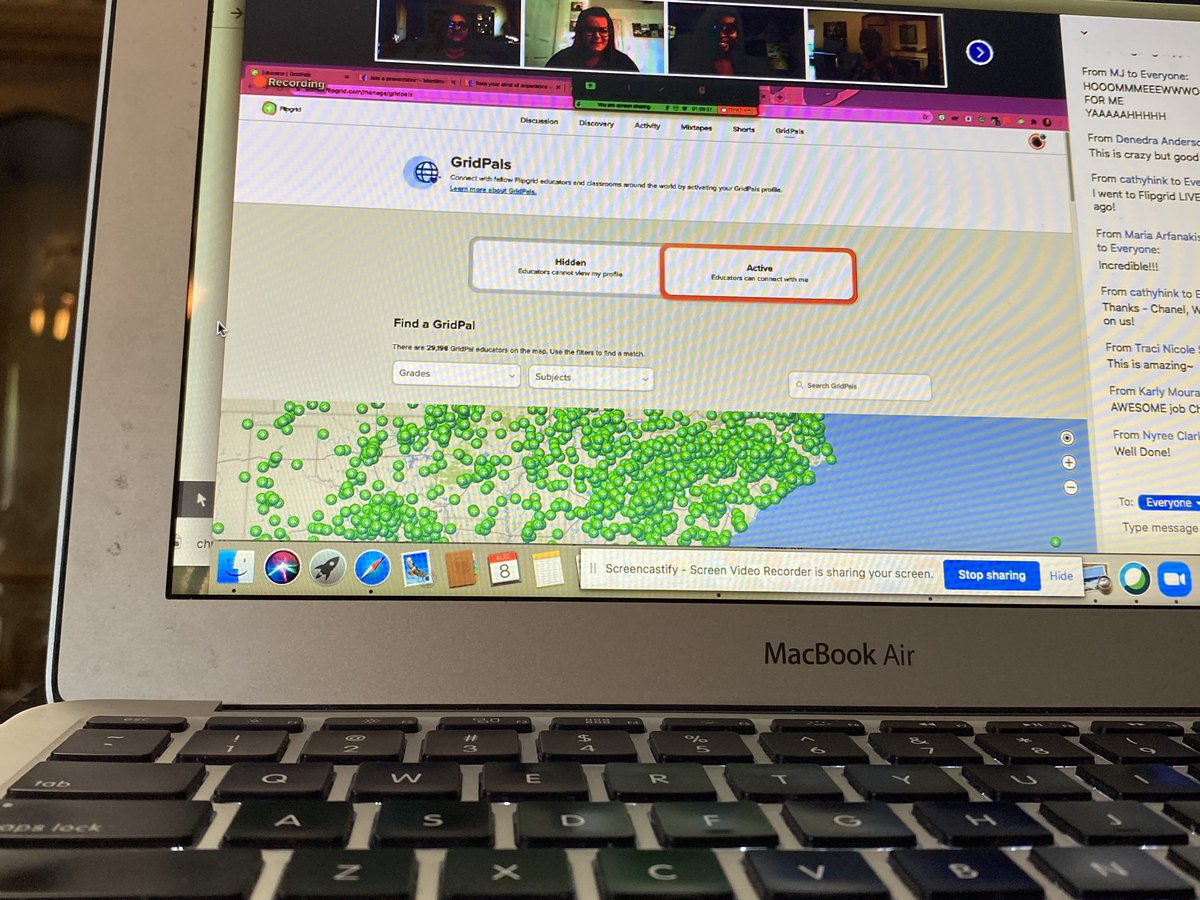 #YVresources #TechForAll keeps getting better- I'm loving how @dc_stemtastic uses @Flipgrid