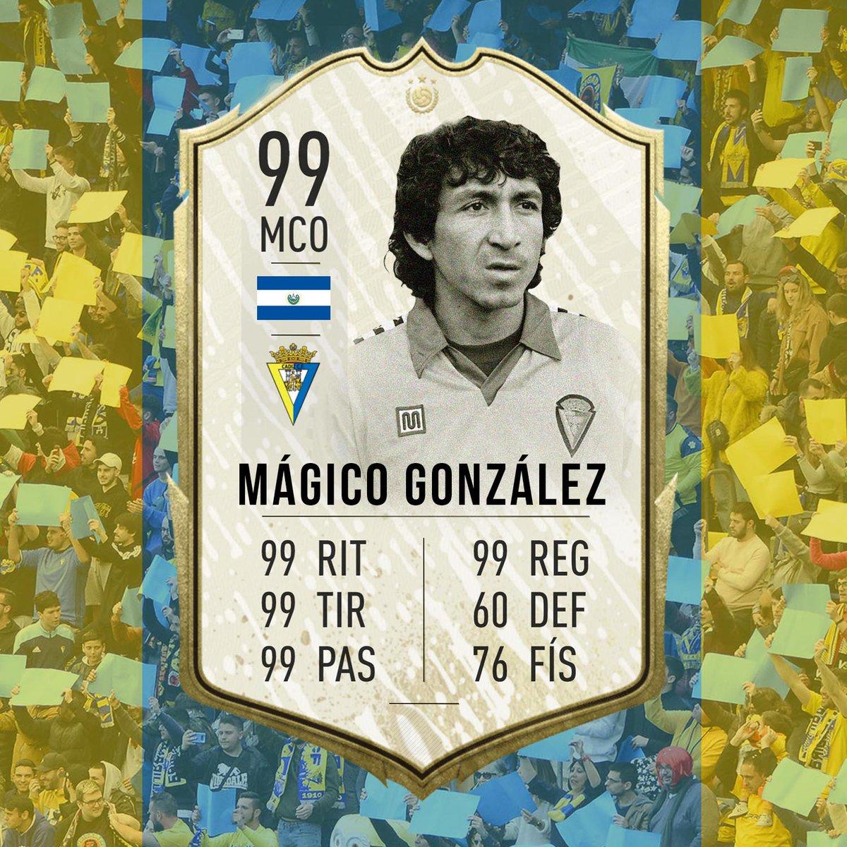 😍 RT si sabes que con Mágico González en tu equipo del #FIFA21 serías prácticamente invencible.  @EASPORTSEsp https://t.co/NVhyo5njFF