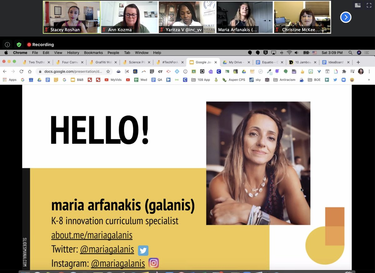 So ready to dive into learning more about @JamboardM with @mariagalanis! #TechForAll #YVResources