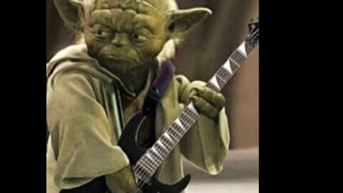 """""""To shred on a #SaturdayNight is a certain path of the #Jedi.  Not to shred is a path to the #DarkSide of #TheForce""""@ESPGuitars @ESPGuitarsUSA #StarWarsMemes #Yoda #Skywalker #UseTheForce #Twitter #YouTube #UltraTone #Guitar   https://ultratoneguitars.com/collections/electric-guitars/products/esp-ltd-h-1001fr-black-natural-burst-electric-guitar…pic.twitter.com/IC6wAGX4uq"""