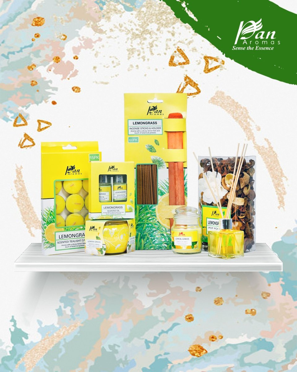 Candles are a wonderful way to mark celebrations and make ideal gifts for your loved ones.Our beautifully packaged combo of #Lemongrass scented candles and fragrance products can provide the perfect atmosphere to induce calm and freshness. #homefragrance #homedecor #gift #giftingpic.twitter.com/d2wOGvmWEs