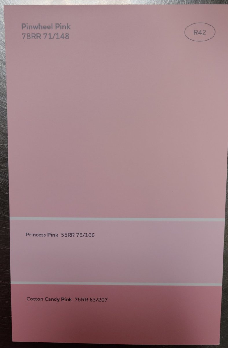 HELP which one looks more pastel? Im thinking princess pink