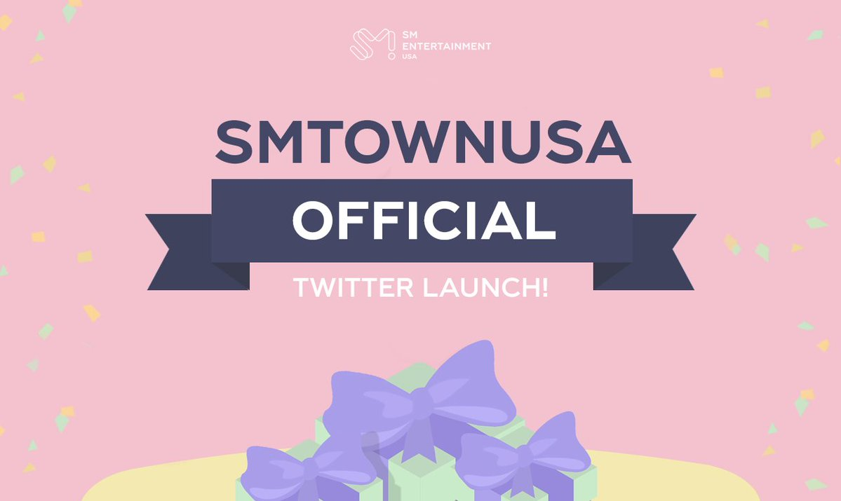 Welcome to the OFFICIAL SMUSA Twitter account! 🎉 We are so excited to be launching a new channel for us to share updates & interact with you all. We hope you will look forward to all of the exciting things we have in the works to continue uniting our artists with their fans! 😊