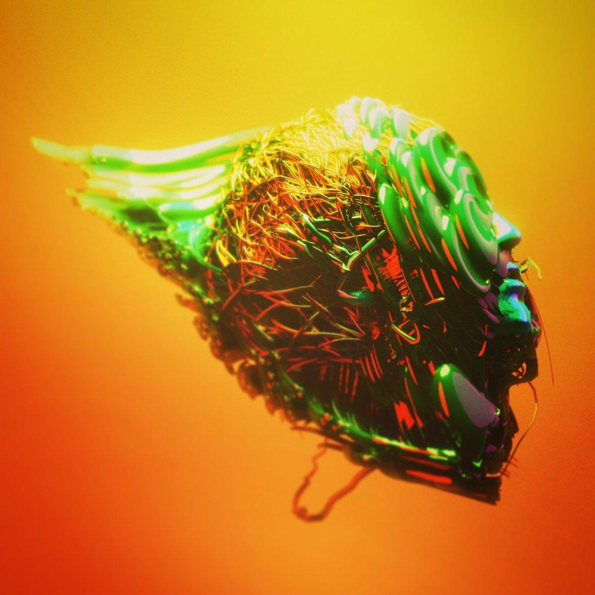 Head Mess - 3D Artwork  #3drender #b3d #eeveerender #3dartpic.twitter.com/FUtY5XlzIu