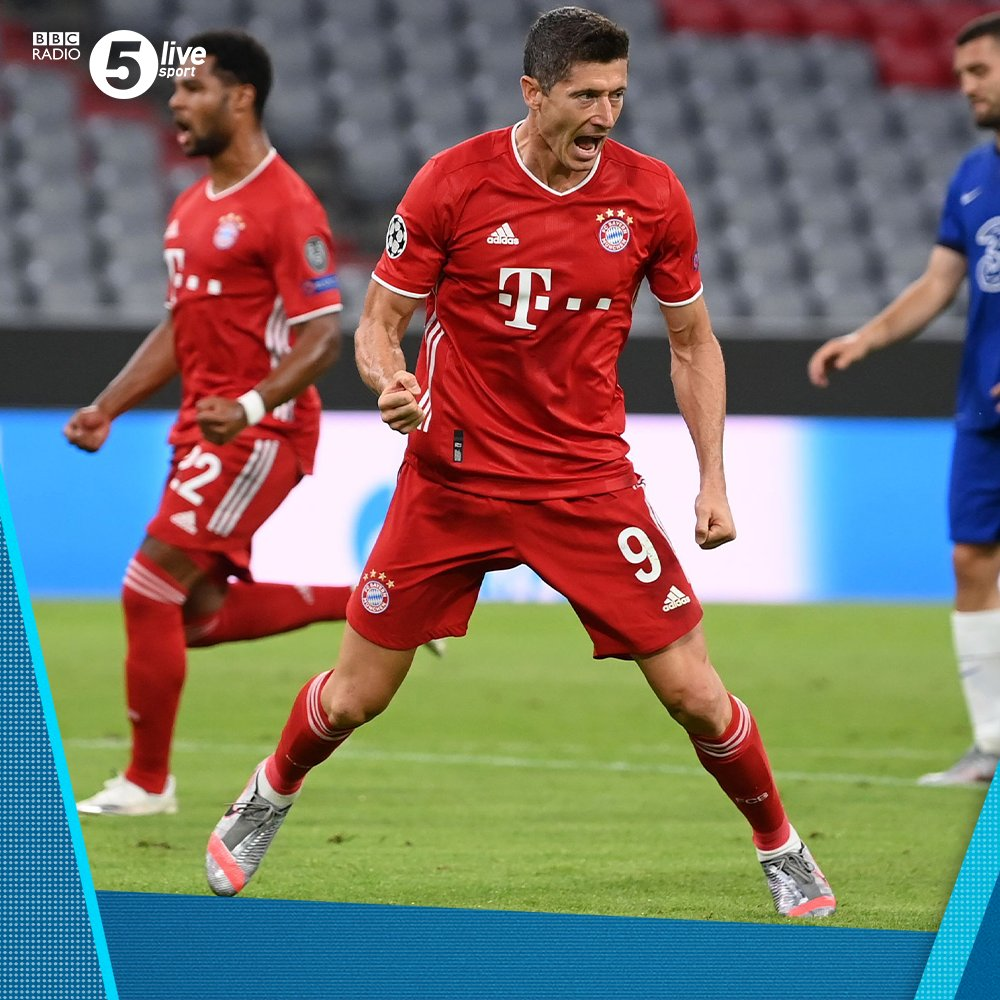 ⚽️ Two goals 🅰️ Two assists  Robert Lewandowski has had a good night so far...  Just the 5⃣3⃣ goals this season for him  86' - 🔴 Bayern Munich 4-1 Chelsea 🔵 (agg 7-1)  Join us on @BBCSounds 📲📻: https://t.co/5Du5Yilmm1 #UCL #BAYCHE https://t.co/hDhKr3ySSO