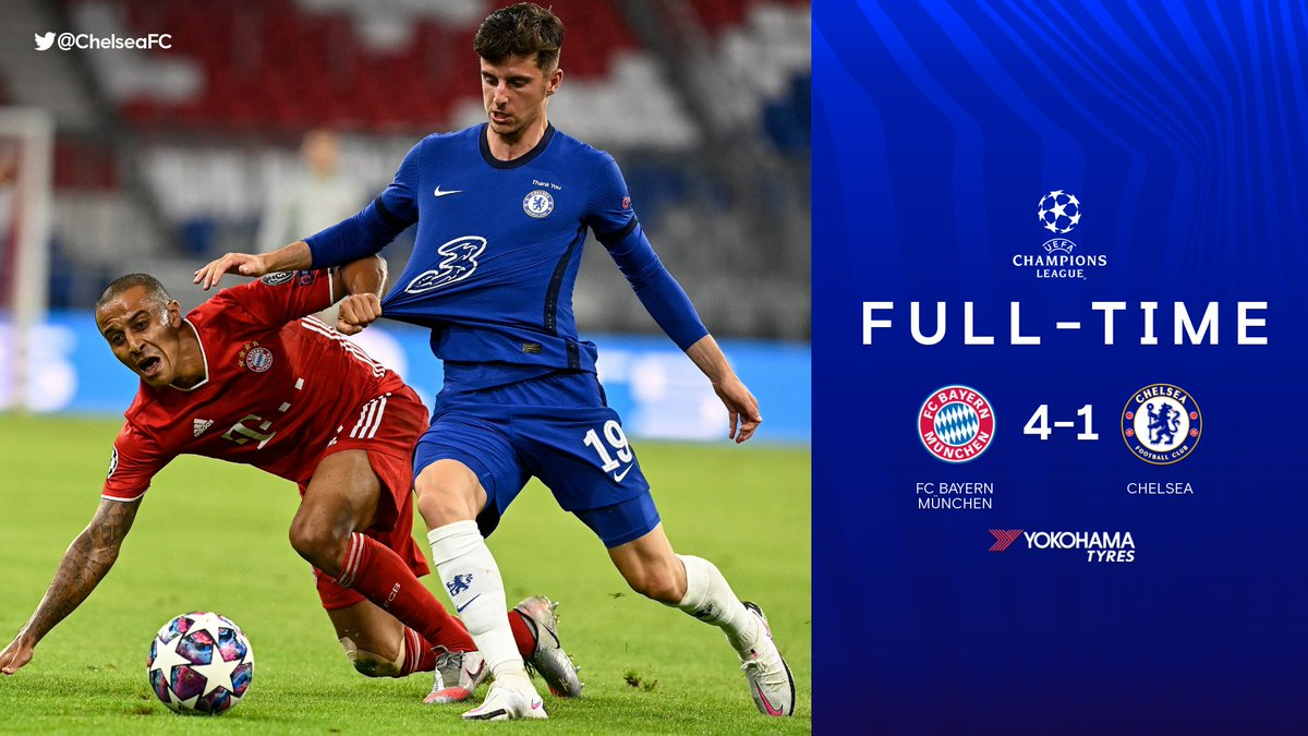 Our run in the Champions League comes to an end. 😔 #BAYCHE https://t.co/EDnOZWtEBj