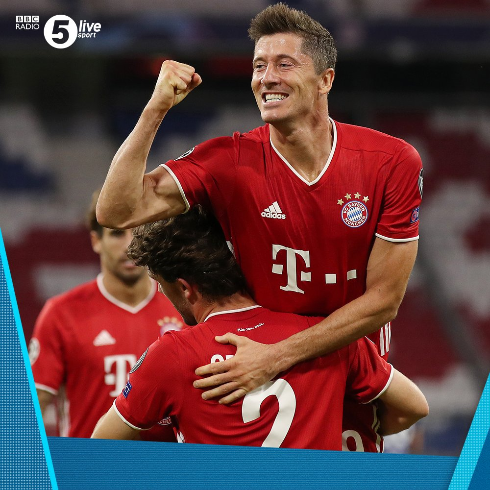 Chelsea have conceded seven goals in a two-legged European tie for the first time.  90' - 🔴 Bayern Munich 4-1 Chelsea 🔵 (agg 7-1)  Join us on @BBCSounds 📲📻: https://t.co/5Du5Yilmm1 #UCL #BAYCHE https://t.co/XdDsbAmfkQ