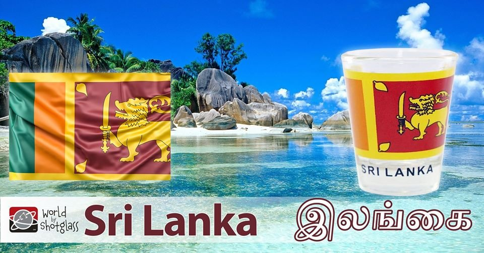 Did you know that SRI LANKA is officially called the Democratic Socialist Republic of Sri Lanka? Get your special Sri Lanka products today: https://bit.ly/2T2cpoE  #SriLanka #WorldByShotglass #VisitSriLanka pic.twitter.com/W2Q98sUVDl