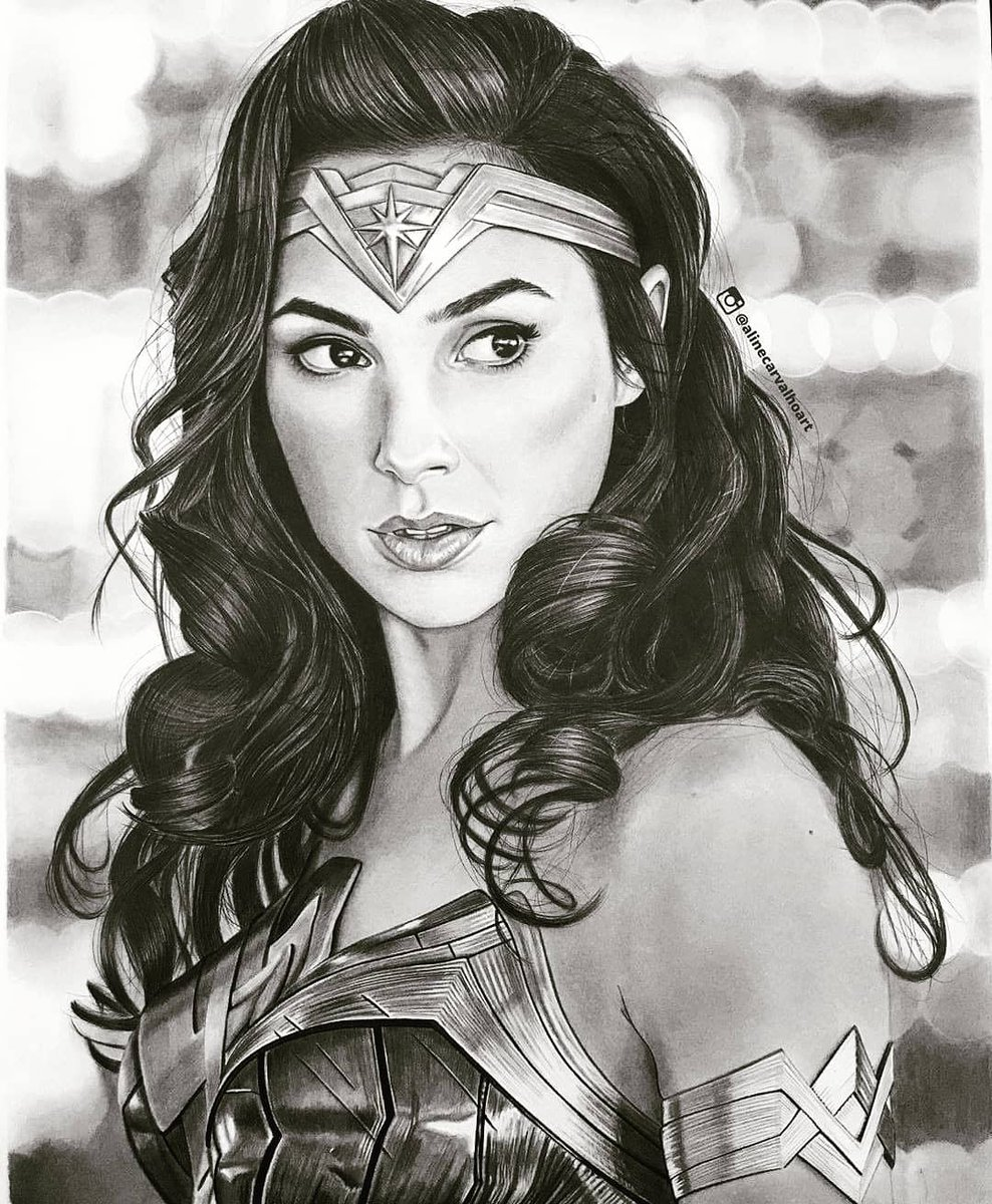 #WonderWoman  . . . . . #WonderOfWonderArt #Sketching #sketch #PainterOfTheNight #drawing #portrait #Hollywood #movie #girlpower #beautiful   Credit : http://instagram.com/sketch__o__pedia… pic.twitter.com/nPZRywVMiN