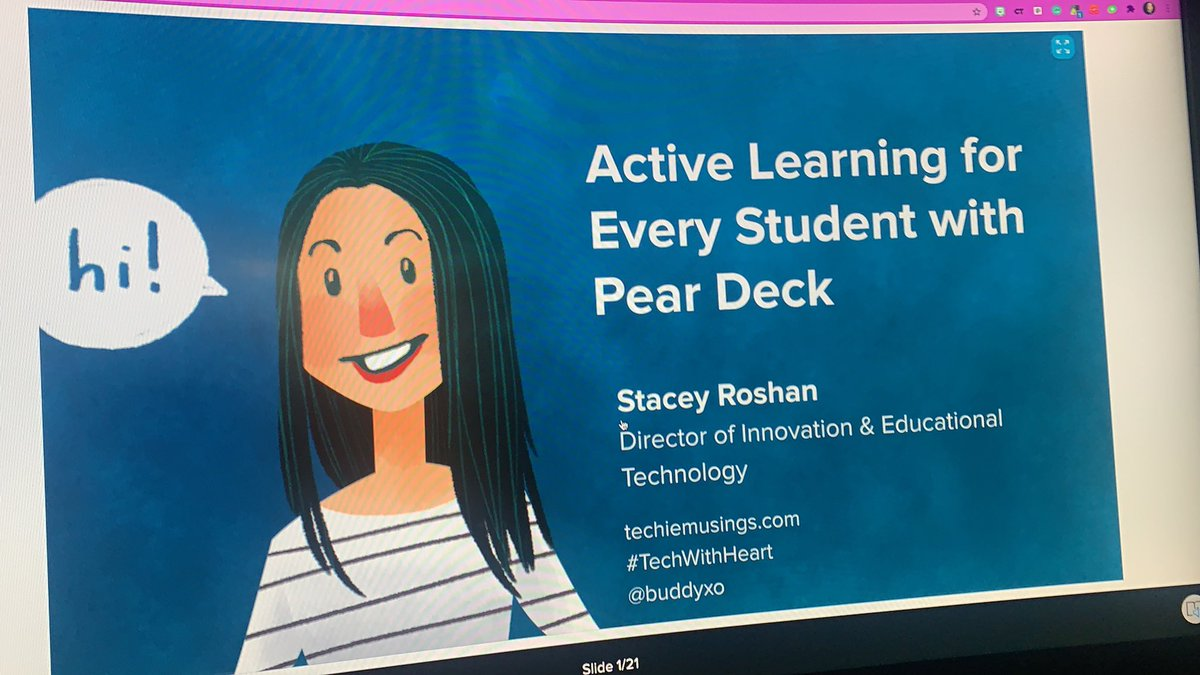 My first time playing with @PearDeck today @buddyxo
