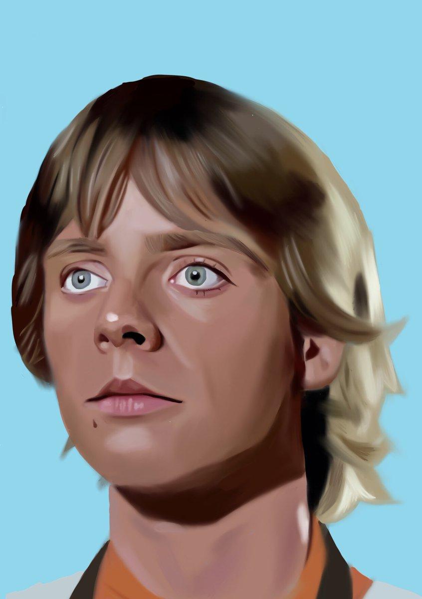 Luke Skywalker digital drawing #lukeskywalker #StarWars #starwarsart pic.twitter.com/NHEzWoV3t0