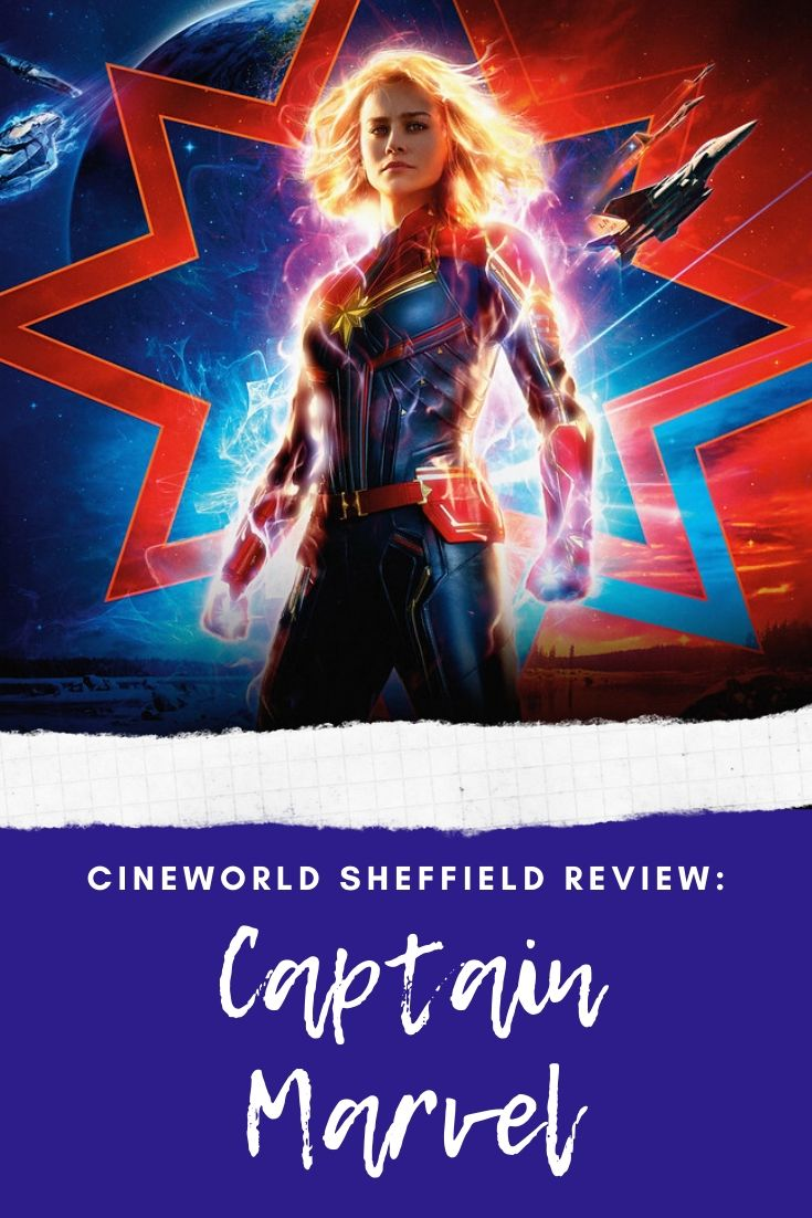 2019 was the year of MCU and Captain Marvel was an absolutely stellar addition read my no spoiler movie review here: http://www.aliceinsheffield.com/2019/03/captain-marvel-review.html… #captainmarvel #cineworld #moviereview #MCUpic.twitter.com/Bp500NRiKg