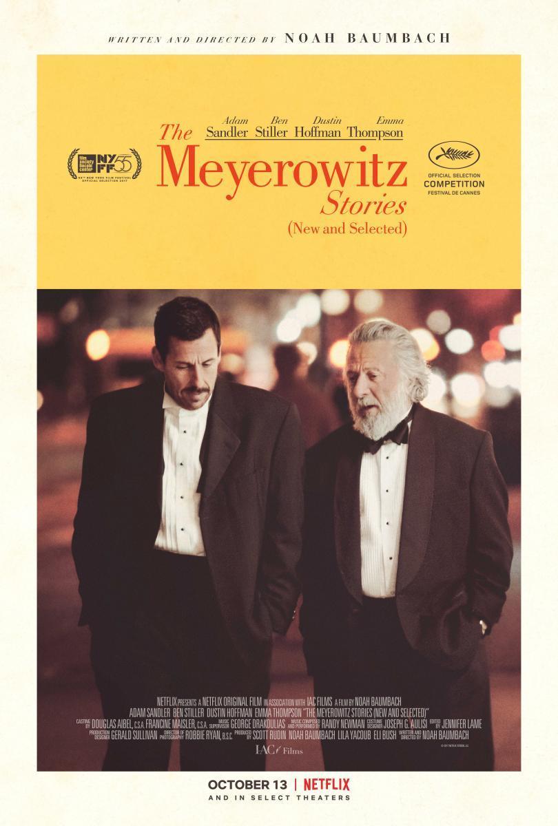 The Meyerowitz Stories.  Una relato un tanto tragicómico, con un casting de primera.  Lo recomiendo.  #cine #cinema #movies #moviereview pic.twitter.com/7ASGfnOll1