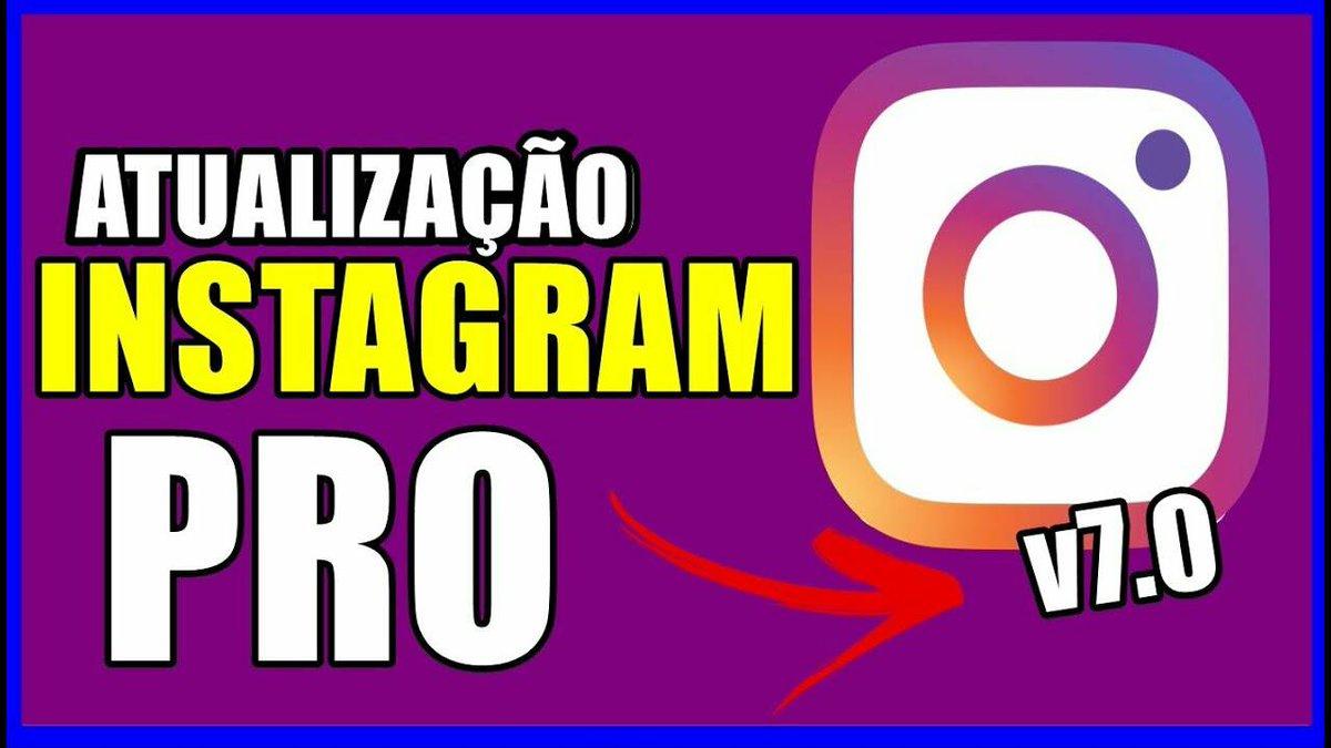 """Nova versão INSTAGRAM PRO v7.0 seria esse o FIM dos MOD's INSTAGRAM?! Ou tá tudo""""mais do mesmo?!"""" http://ow.ly/UDEO30r3nA0 . Então SIGA o IG  @canaliodroid1  .  INSCREVA-SE DEIXE SEU LIKE COMPARTILHE . #instapro #instamods #instagrampro #canaliodroid #android #droid pic.twitter.com/7U5rOCTCVj"""