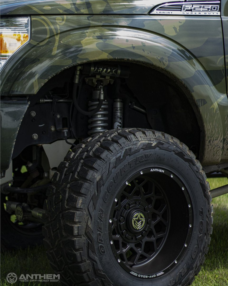 Feel it.  Check out our suspension  selection here-->https://bit.ly/2BNl4Xr  #anthemoffroad #anthemwheels #anthemavengers #trucklife #suspension #foxsuspension #4X4 #ford #F250pic.twitter.com/8Rxq2z1bta