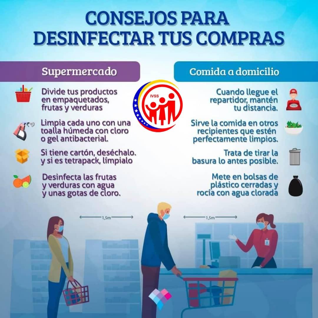 #Informate | te enseñamos a como desinfectar tus compras de una forma rápida y seguro, prevenir es de todos. #PrevenirEsSalud  #UnionYCompromisoPatriotico  #PorUnSeguroMásSocial  @MagaGutierrezVpic.twitter.com/HMsOpq8OfD