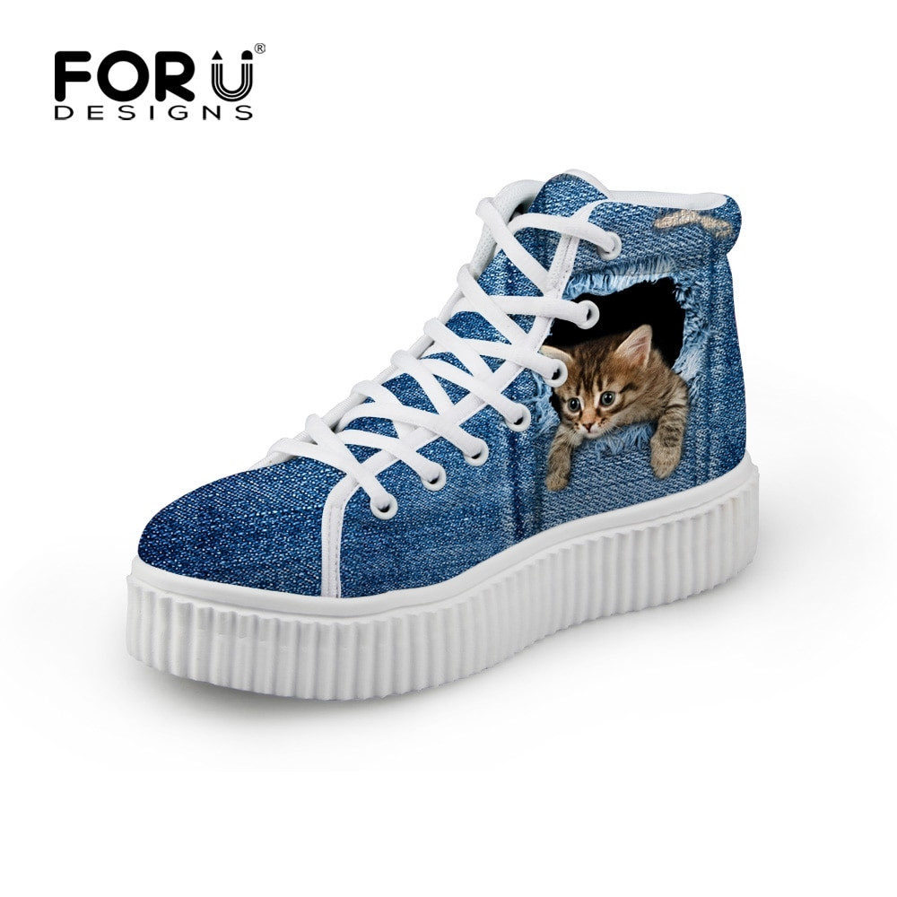 FORUDESIGNS Stylish Womens High Top Platform Shoes,Cute Pet Cat Blue Denim Printed Shoes for Ladies,Casual Lace-up Shoes Flats https://www.doneshoes.com/forudesigns-stylish-womens-high-top-platform-shoescute-pet-cat-blue-denim-printed-shoes-for-ladiescasual-lace-up-shoes-flats/…   #shoe #instashoes #fashionshoes #shoesoftheday #shoess #shoegasmpic.twitter.com/vG9SH4PXip