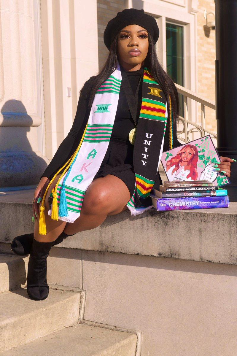 """Time flies when you working!""🎊 •President : •BSA✊🏽 •KΛ💓💚 •MAPS🩺 •Community Scholar •Leadership Scholar No graduation, but we still graduated 🥳 #AKAsgraduate 📸: @Tribe_Shed"