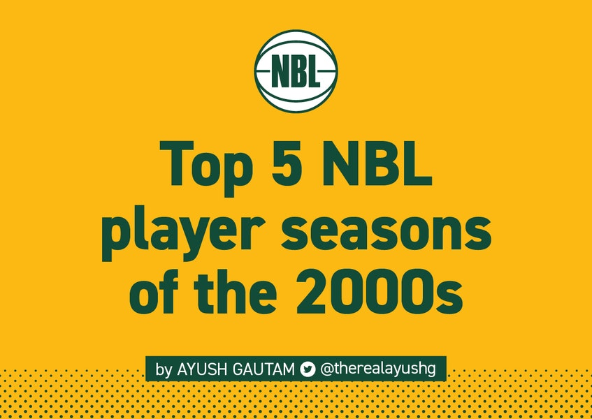 NBL | @therealayushg takes a look at the Top 5 individual season performances of the 2000s. What a decade it was!  Count them down: https://t.co/QX4zhWrIyR   #AussieHoops #NBL21 https://t.co/IsikR7jPLy