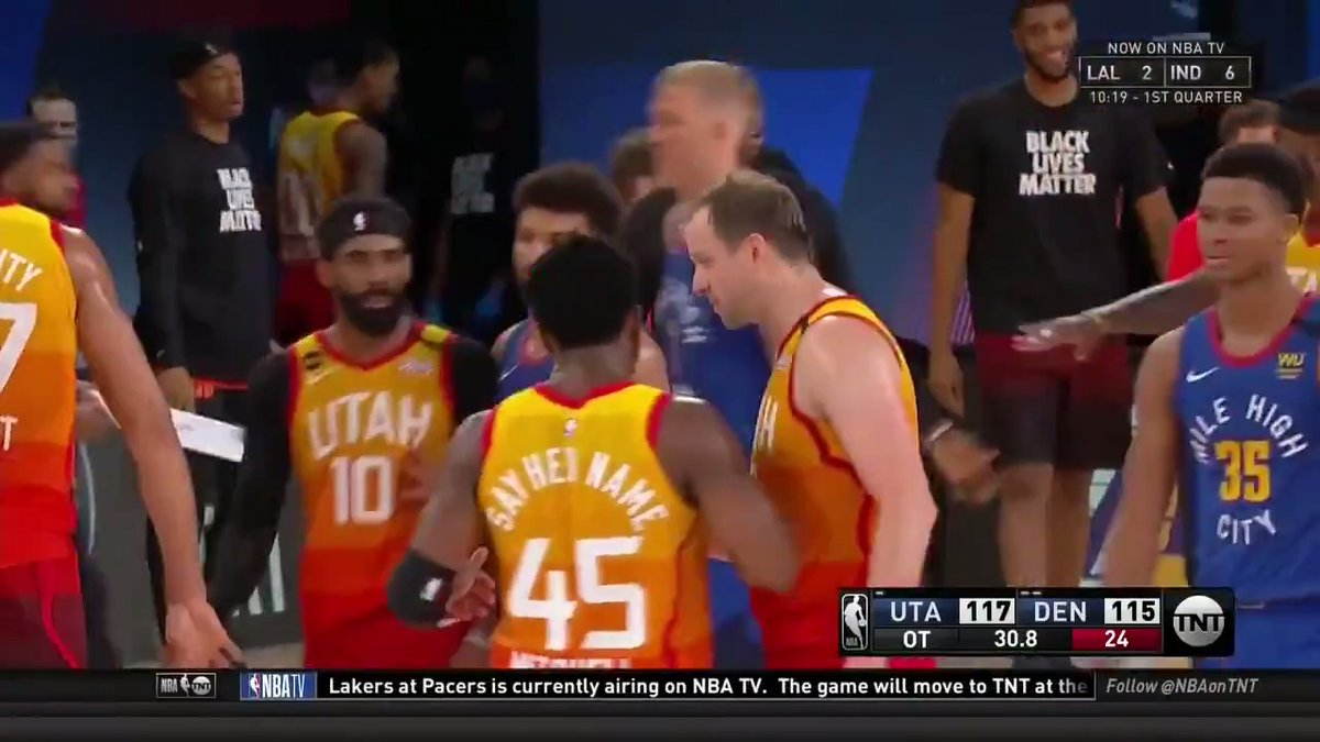 Nuggets vs. Jazz was a roller coaster 🍿 https://t.co/mSw4VMQaqS