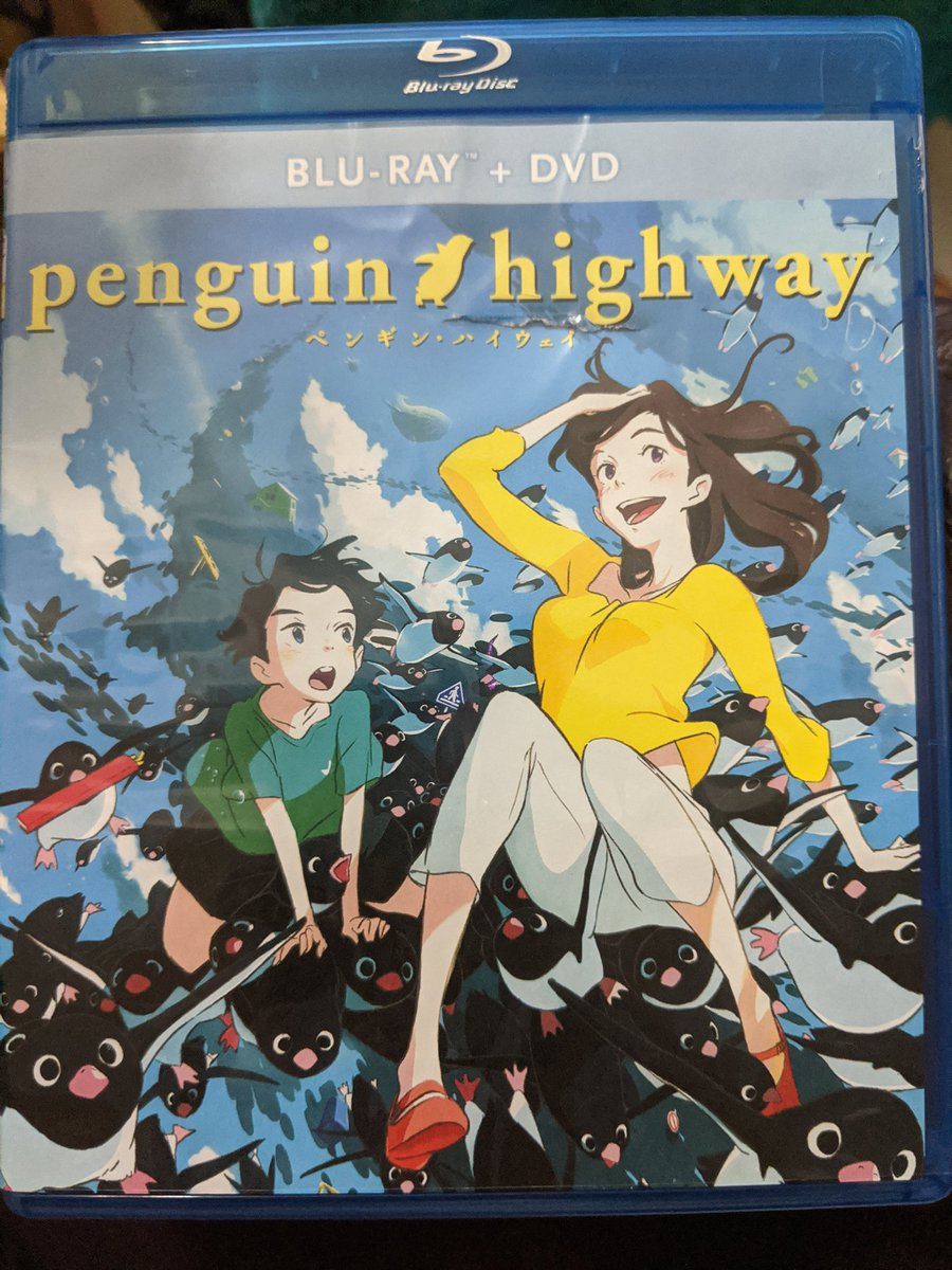 Tom and I watched Penguin Highway today, another newly bought movie. Not at all what we expected, but that animation was gorgeous! Can't wait to see more from #studiocolorido ! #anime #penguinhighway #watching #movie #anitwt #animemovie pic.twitter.com/3IjEL6bfiN