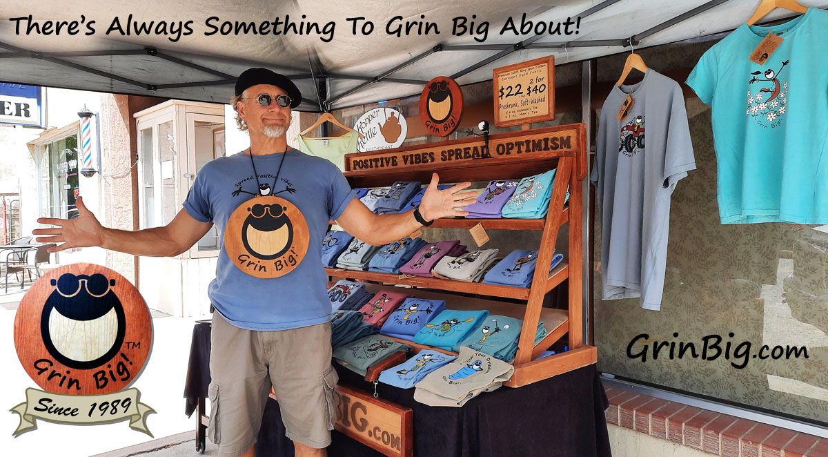Sidewalk Sale in Florence, Colorado. #Colorado #sidewalksale #outdoors #tshirts #tshirtshop #GrinBig #GaryBlehm #TheOptimist Retail in a time of madness requires all the optimism you can hold on to. #optimism #PositiveVibes #LifeIsGrin #ThisIsOptimism http://GrinBig.com pic.twitter.com/c1R027MD9f