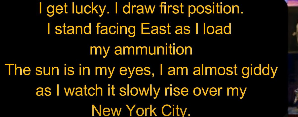 """Um can we talk about this #Hamilton #Ham4Ham rhyme with """"New York City"""" and """"giddy""""?pic.twitter.com/9R1zwz3WrG"""
