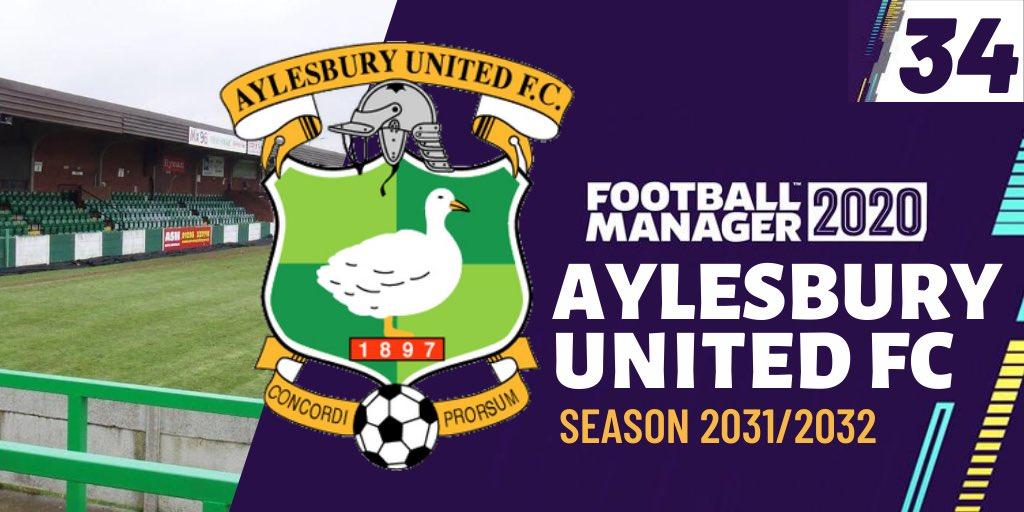 Carabao Cup action! Aylesbury United | Football Manager 20 | Season 2031/2032 | Episode 34 https://youtu.be/YlLW0MU3jQMpic.twitter.com/FTkEsSsK7A