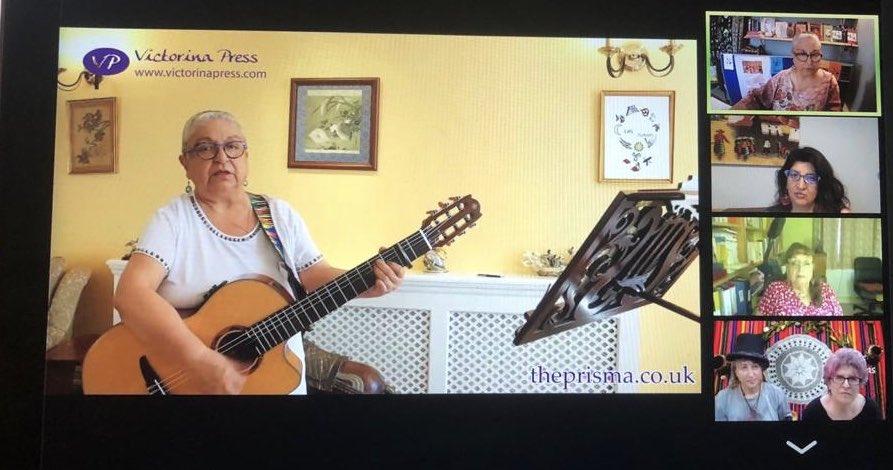 Beautiful #celebration via #Zoom of @lasjuanaspoetas 10-year-anniversary creating #Literature #poetry,#shortstories #herstories and #music Thanks for joining us last night.pic.twitter.com/hY9L6TAyaq