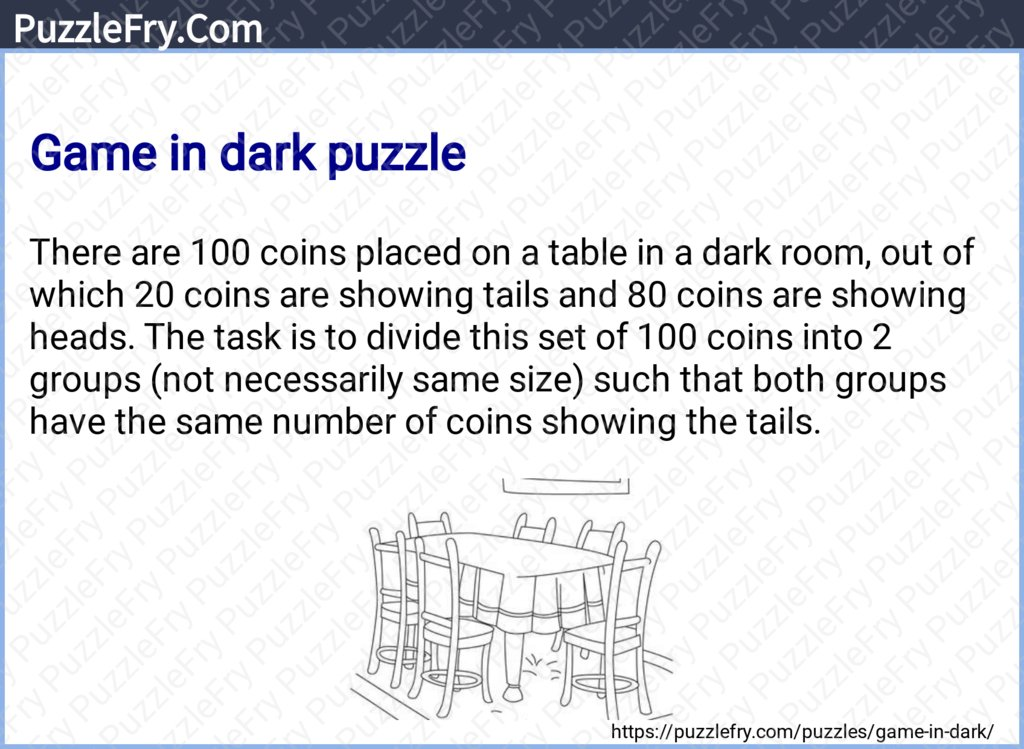 Game in dark puzzle #puzzles #brainteasers #riddles Reference - https://puzzlefry.com/puzzles/game-in-dark/…pic.twitter.com/WOoMy7V6AC