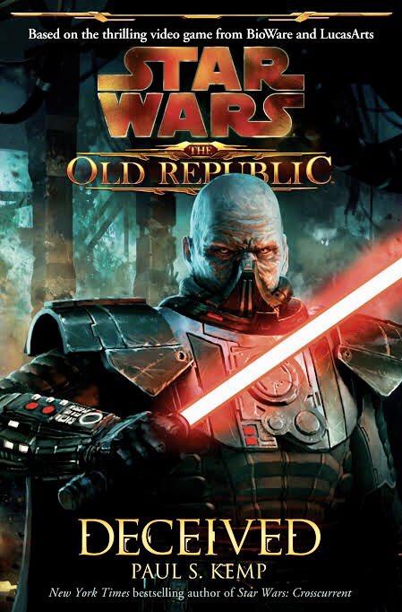 "Just Finished ""Star Wars - The Old Republic - Deceived""..  Another great story..  Deninitely ""a must read""..  #GeekMaster #StarWars #TheOldRepublic #DarthMalguspic.twitter.com/6vi9oJQXlU"