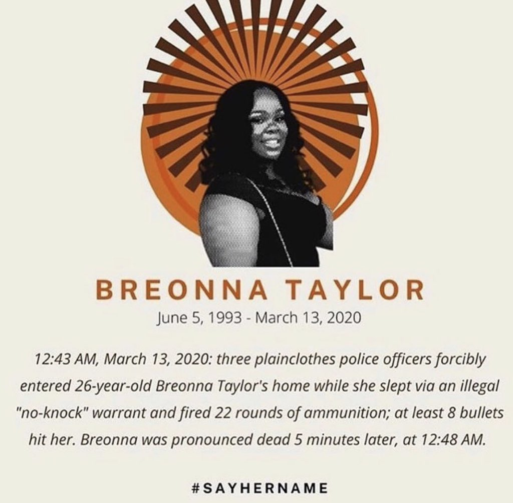 #BreonnaTaylor #SayHerName #JusticeForBreonnaTaylor, @DanielCameronAG.