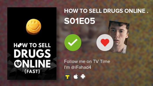 I've just watched episode S01E05 of How to Sell Drug...! #howtoselldrugsonline  #tvtime https://t.co/k4hyQhu4cF https://t.co/V5ltv8r0l2