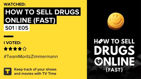 How to Sell Drugs Online (Fast) - S01 | E05 on TV Time https://t.co/GVFGHMvwNS https://t.co/xVJBZ5QnGw