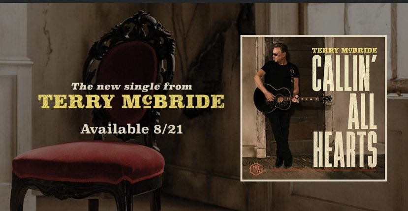 Pre-Save #CallingAllHearts, the upcoming single from ⁦@theterrymcbride⁩ ... release date 8/21