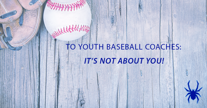 To ANY coach. It's not about you! Period.   #youthsports #solutions #dontretirekid #parents #coachespic.twitter.com/ismKF6MSWo